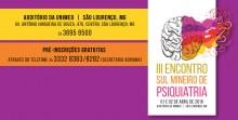 III Encontro Sul Mineiro de Psiquiatria