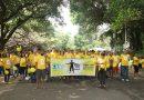 Caminhada movimenta o Setembro Amarelo na capital mineira