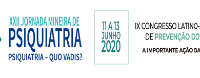 XXII Jornada Mineira de Psiquiatria traz conteúdo científico e concursos artísticos e culturais