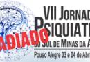 VII Jornada de Psiquiatria do Sul de Minas da AMP