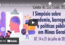 Simpósio organizado pela AMP discute pandemia, barragens, e políticas públicas em Minas Gerais